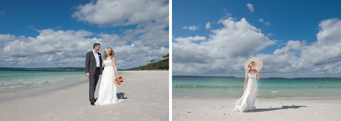 Jervis Bay Beach Wedding