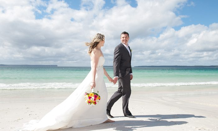Jervis Bay - Hyams Beach Wedding