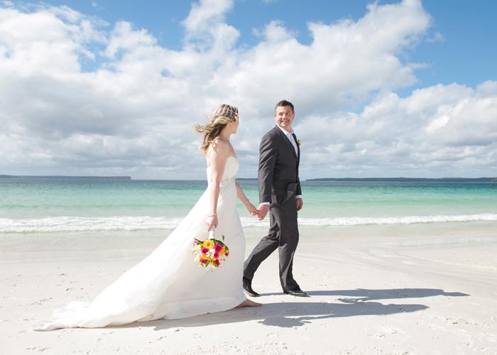 Jervis Bay - Hyams Beach Wedding