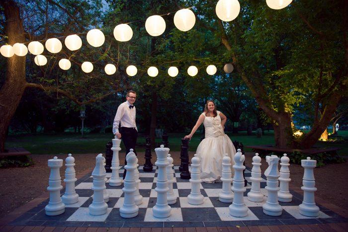 Nicole and Ed's Terrara House Wedding