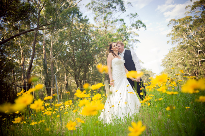 Elle and Sam's Gerringong Wedding