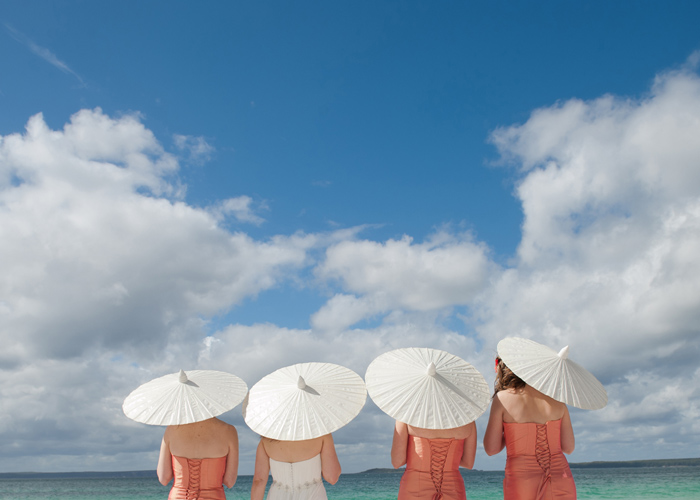 Hyams beach wedding