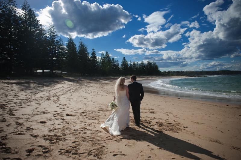 Murramarang resort beach wedding