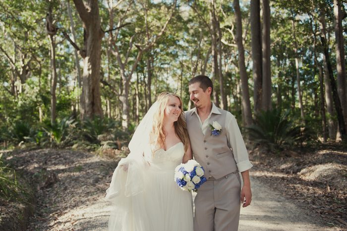 Sharon and Rob's Batemans Bay Wedding