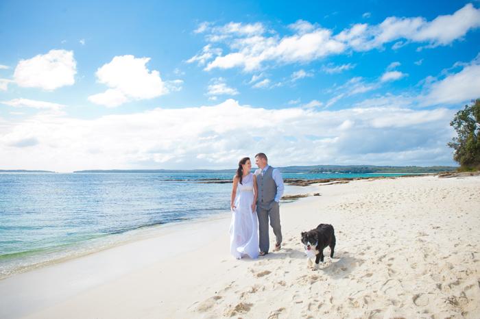 Bel and Kurt's Jervis Bay Wedding