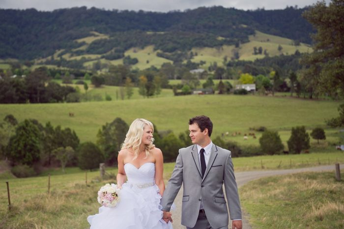 Shelley and Tom's South Coast Country Wedding