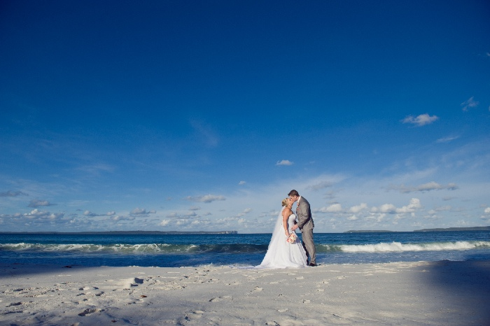 Greenfields beach wedding