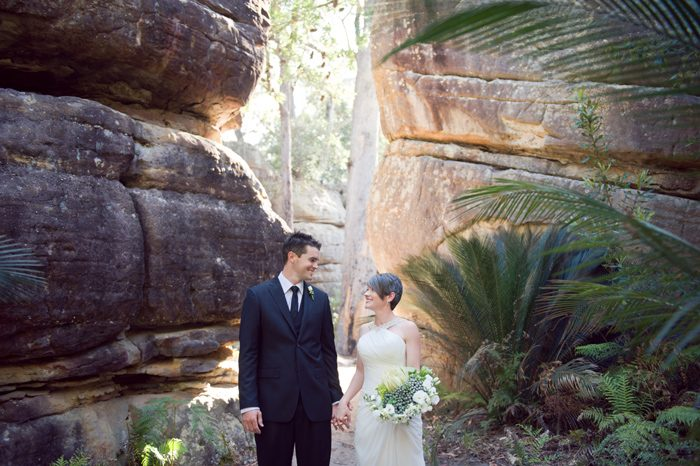 Ria and Dean's Kangaroo Valley Bush Wedding