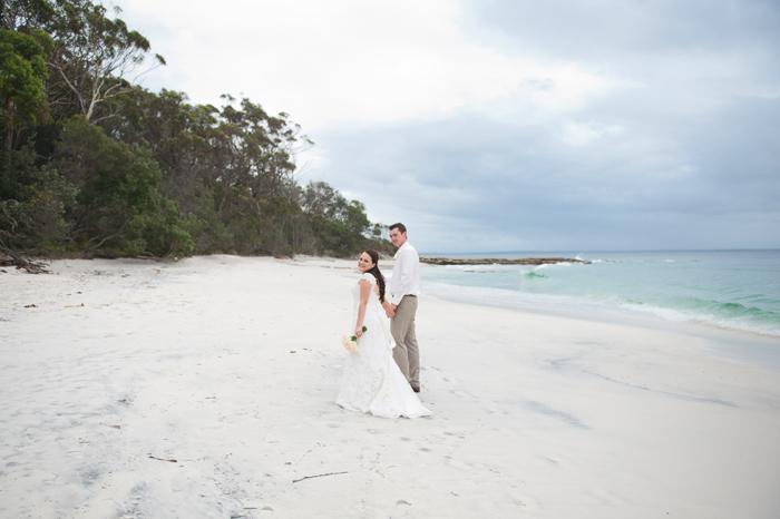 Murrays beach wedding