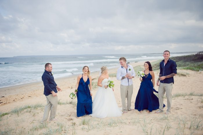Chloe & Joel's Beach Wedding in Stop Motion
