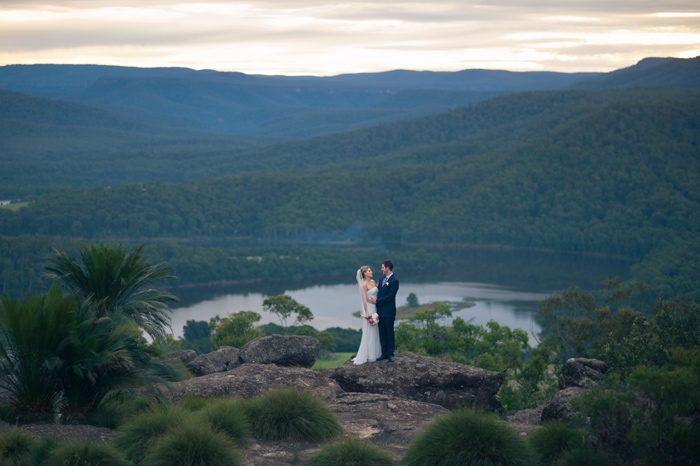 Anna and Damien's Kangaroo Valley Bush Retreat Wedding
