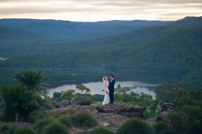 Anna and Damien's Kangaroo Valley Bush Retreat Wedding