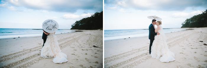 Mollymook beach wedding
