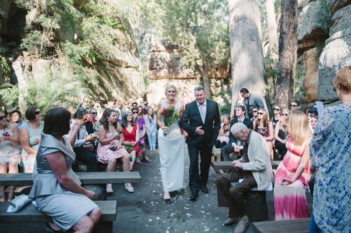 KV bush retreat wedding