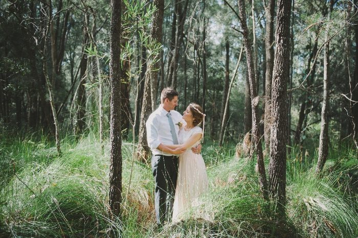 Nicky and Rob's Bawley Bush Cottages Wedding