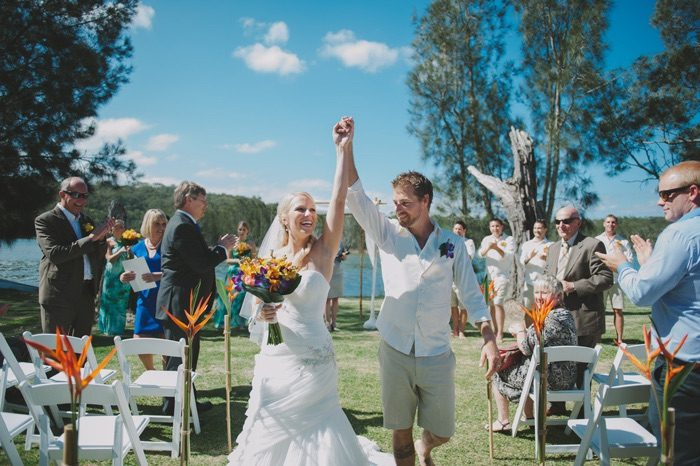 Aila and Dale's South Coast Wedding
