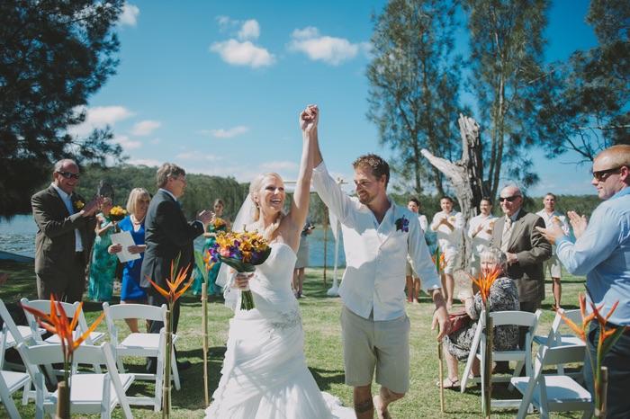 Aila and Dale's South Coast Wedding