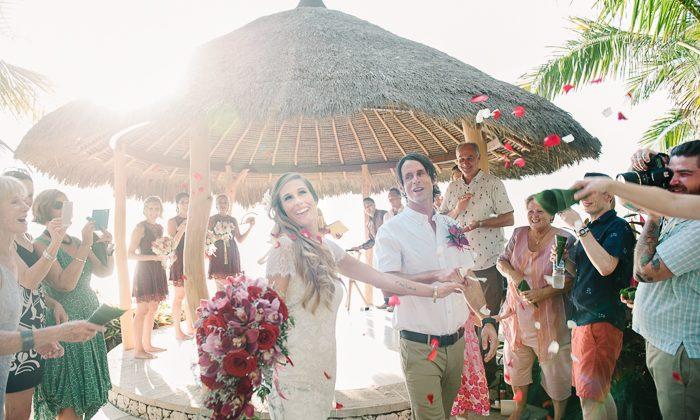 Laura and Antony's Bali Wedding