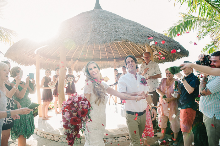 Laura and Antony's Bali Wedding