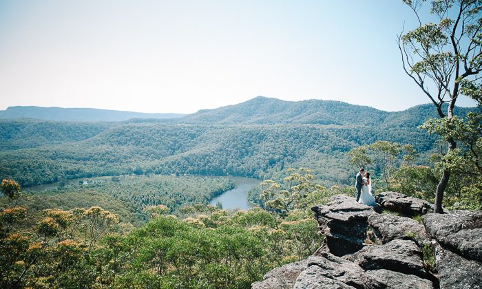 Holly and Michael's Kangaroo Valley Bush Retreat Wedding