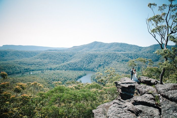 Holly and Michael's Kangaroo Valley Bush Retreat Wedding