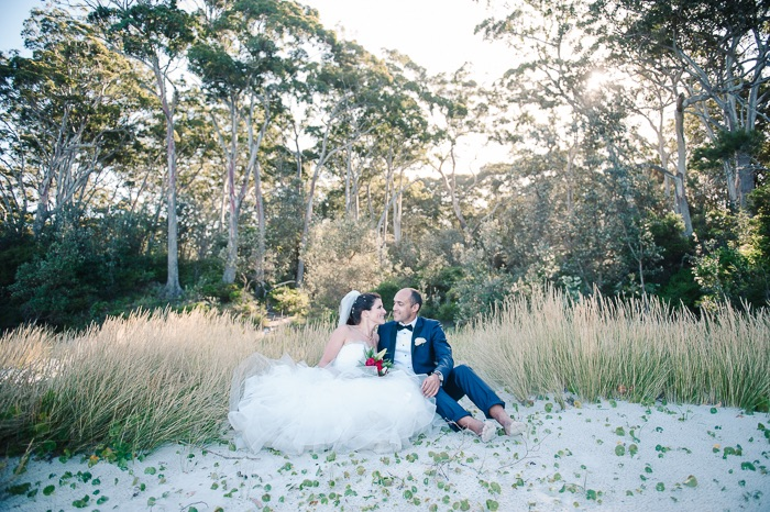 Caro and Leo's Jervis Bay Wedding