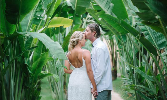 Hannah and Ben's Komune Resort Bali Wedding