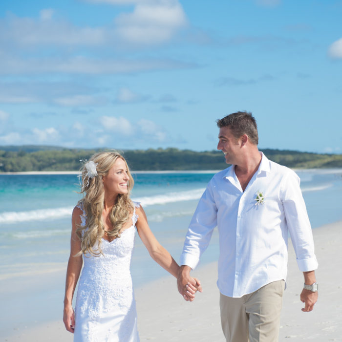 Hyams Beach Wedding