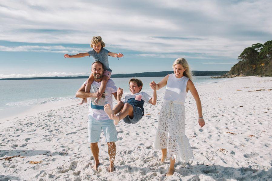Hyams Beach Family Photographer