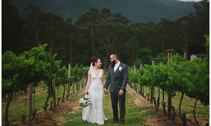 Flick & Dan's Cambewarra Estate Wedding