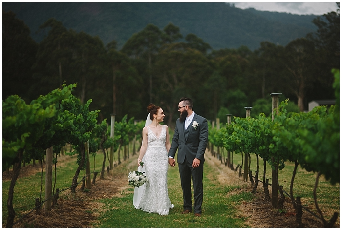 Flick & Dan's Cambewarra Estate Wedding
