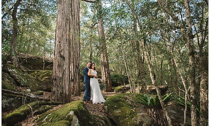 Lisa and Josh's Wildwood Kangaroo Valley Wedding