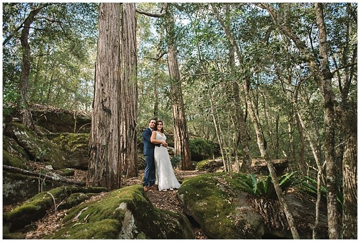 Lisa and Josh's Wildwood Kangaroo Valley Wedding