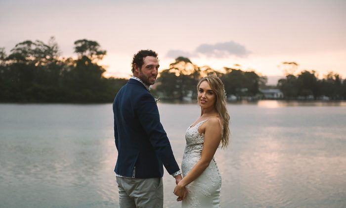 Amy & Damien's Kullindi Jervis Bay Wedding
