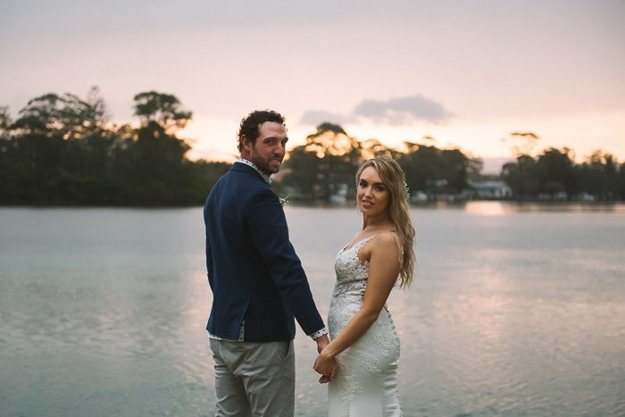Amy & Damien's Kullindi Jervis Bay Wedding